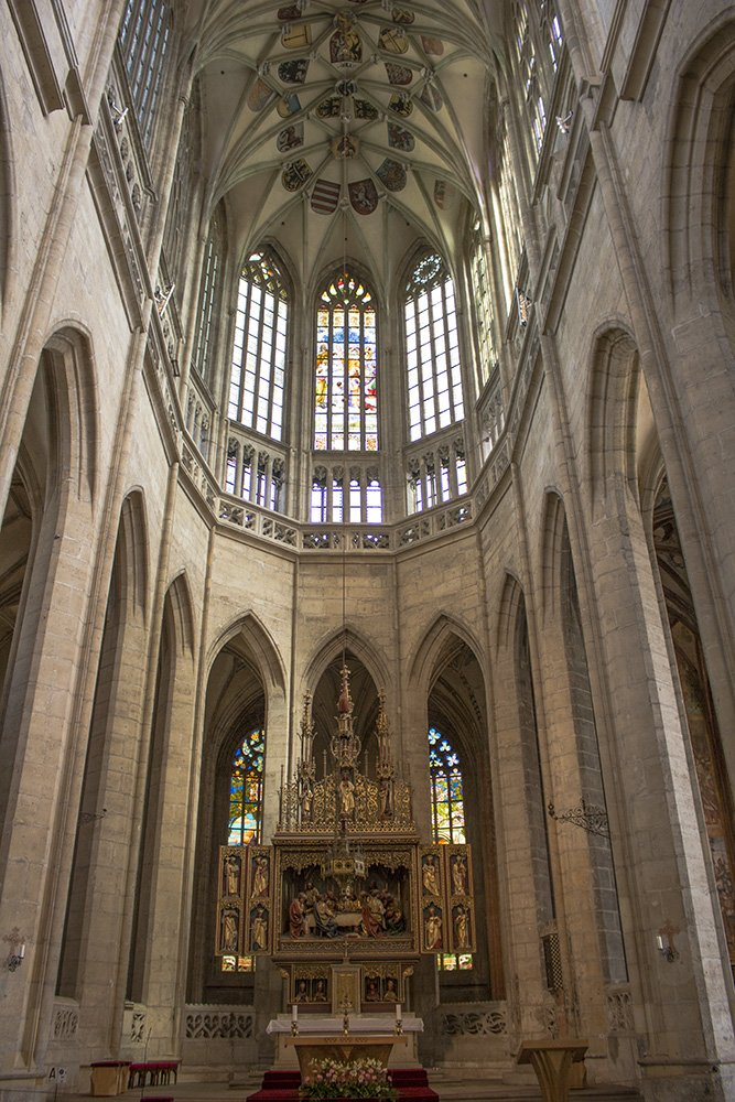 Kutna Hora on a day trip from Prague: things to do | Inside St Barbara Church