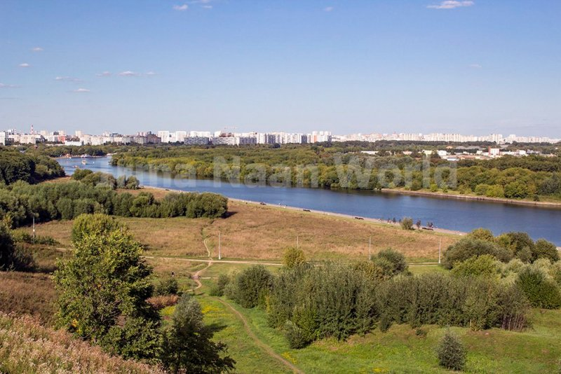 Moscow pictures: stunning photos of Moscow | View from the park in Kolomenskoye