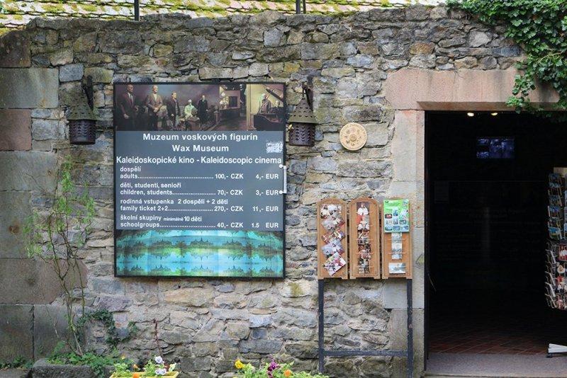 From Prague to Karlstejn Castle, Czech Republic | Wax Museum in Karlstejn