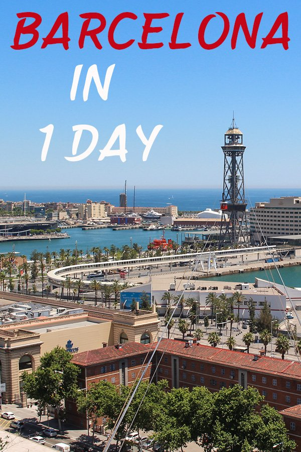 Barcelona in one day | Barcelona one day tour | What to see in Barcelona in 1 day | Barcelona in a day | 1 day in Barcelona | What to do in 1 day in Barcelona | Things to do in 1 day in Barcelona | Places to visit in 1 day in Barcelona