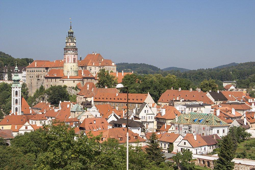 A day trip from Prague to Cesky Krumlov Castle