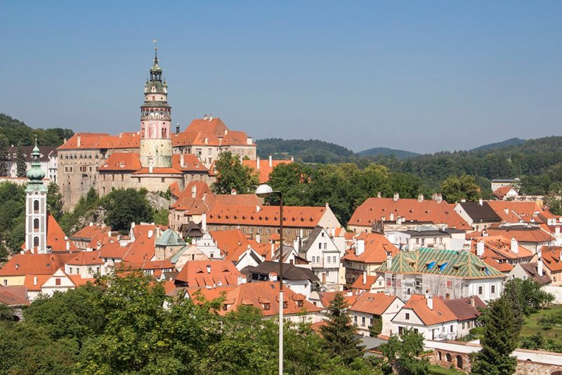 A day trip from Prague to Cesky Krumlov Castle