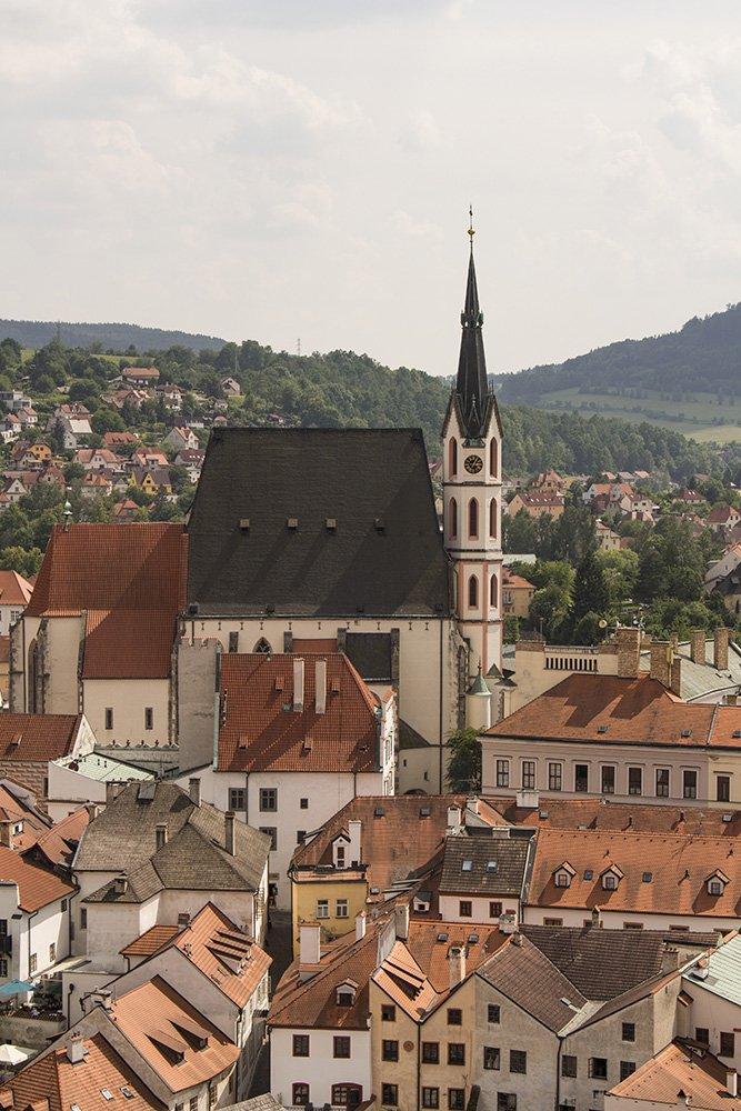 A day trip from Prague to Cesky Krumlov Castle   St Vitus Church
