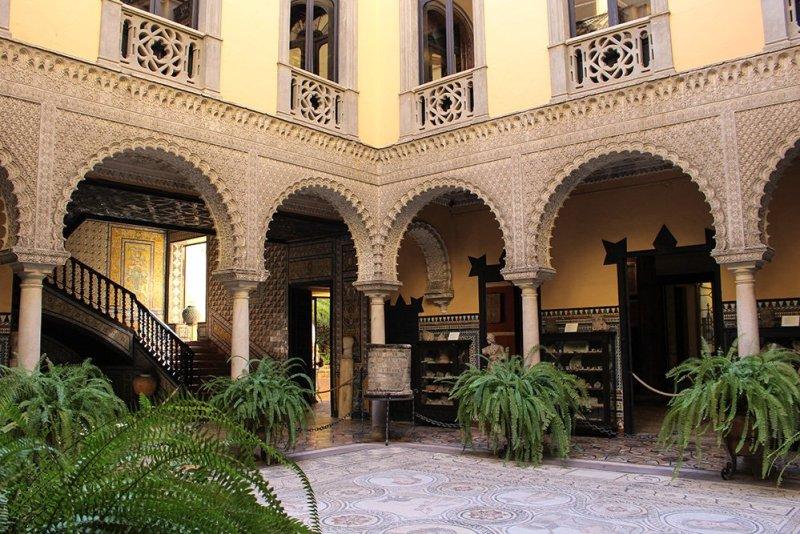 Главные и самые красивые достопримечательности Севильи | Дворец Лебриха