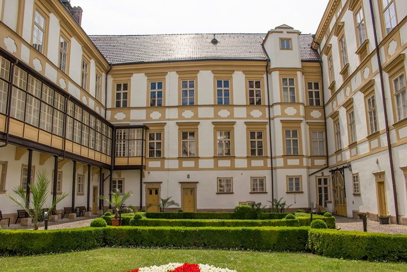 Things to do in Olomouc, Czech Republic, in half a day | Inner courtyard of Archbishop's Palace