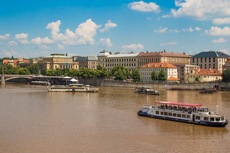 Where to find the best viewpoints in Prague | View from Charles Bridge