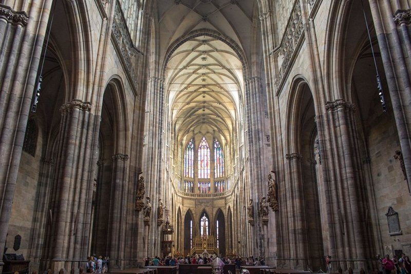 St Vitus Cathedral in Prague Castle