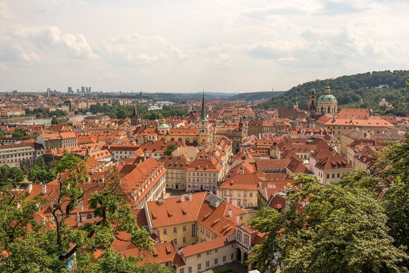 Прага из Лобковицкого дворца