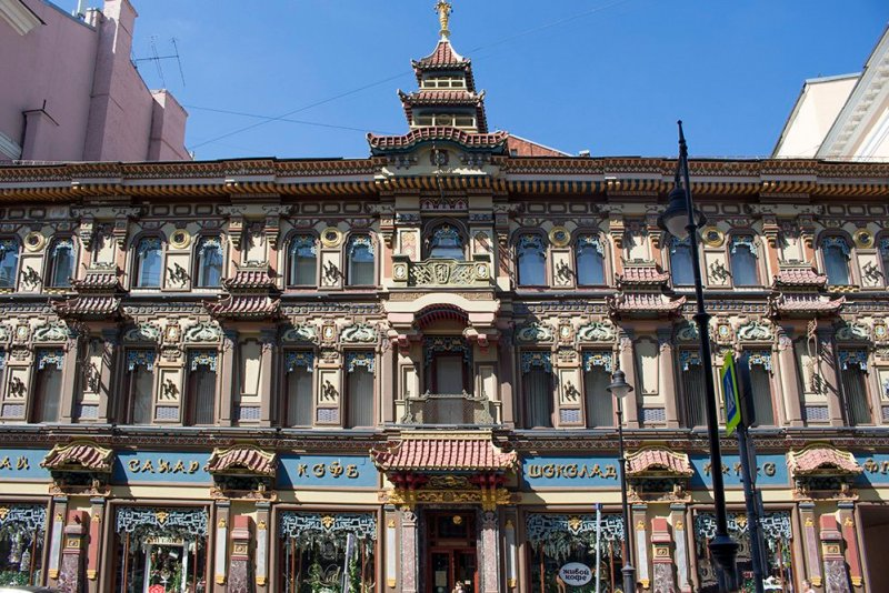 What to do in Moscow for free | A tea shop in Myasnitskaya street in Moscow