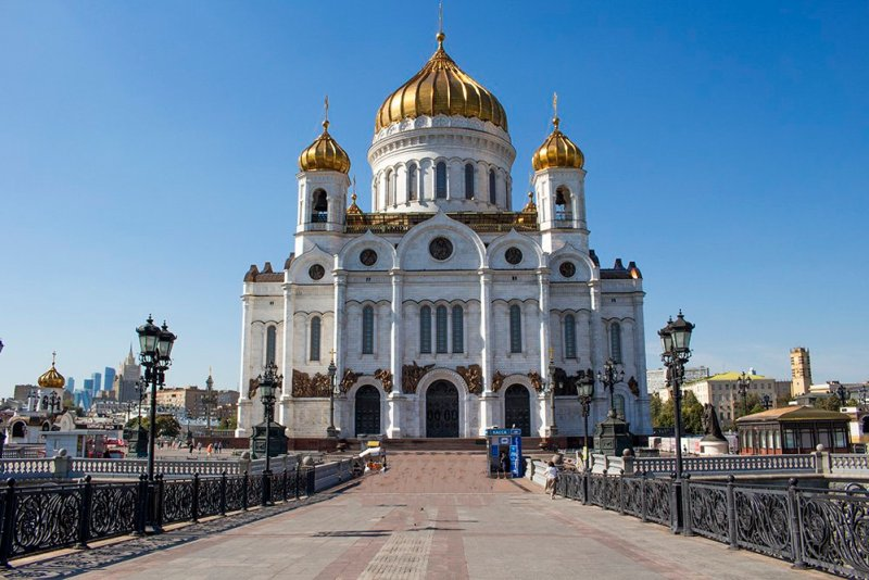 What to do in Moscow for free | The Cathedral of Christ of Saviour