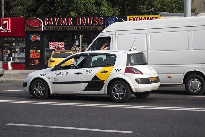 Yandex Taxi in Chisinau
