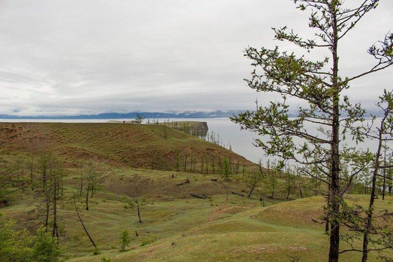 Kharantsy Cape in Olkhon Island