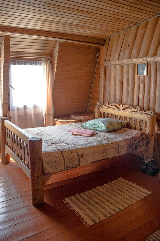 My room at Nikita's Homestead