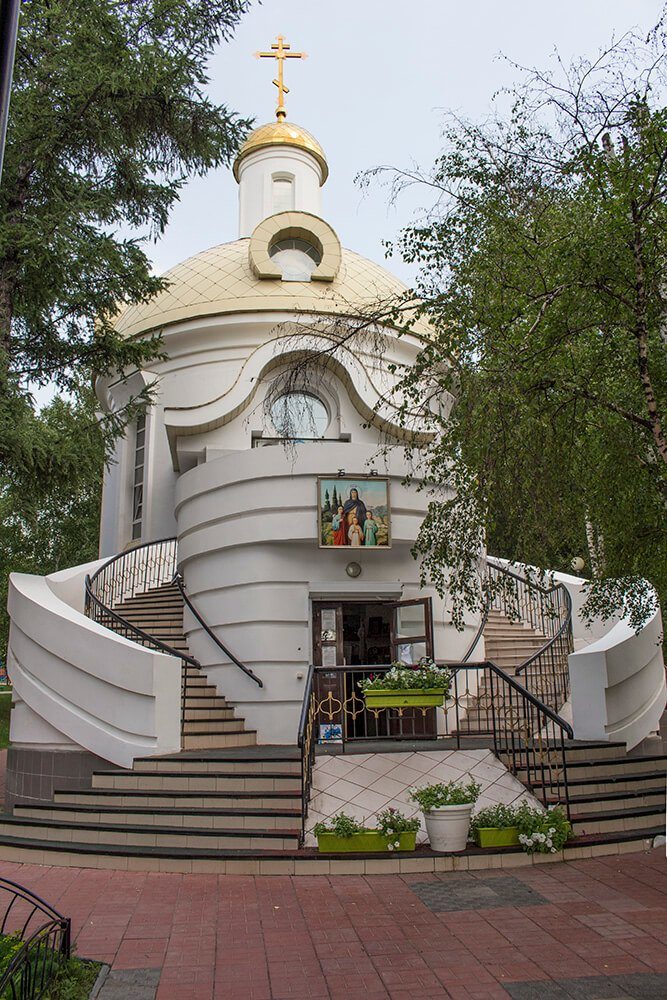 Church of Saints Faith, Hope and Charity and their Mother Sophia in Irkutsk, Russia