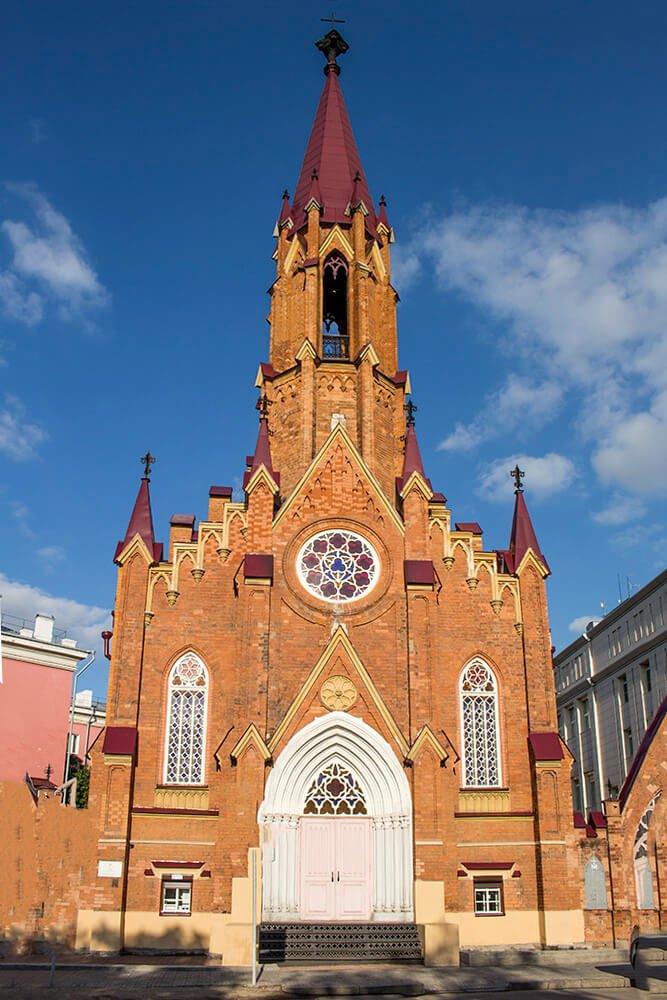 Roman Catholic Church in Irkutsk, Russia