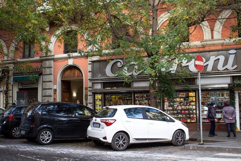 Castroni shop in Rome