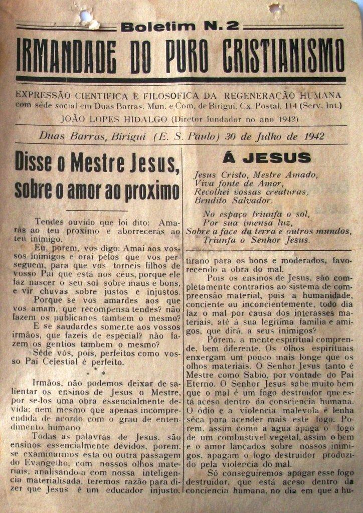 BOLETIM Nº 2 30 JULHO 1942