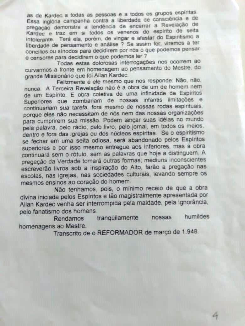 4 - TRANSCRIÇÃO DA REVISTA O REFORMADOR- MARÇO-1948 - ISMAEL GOMES BRAGA