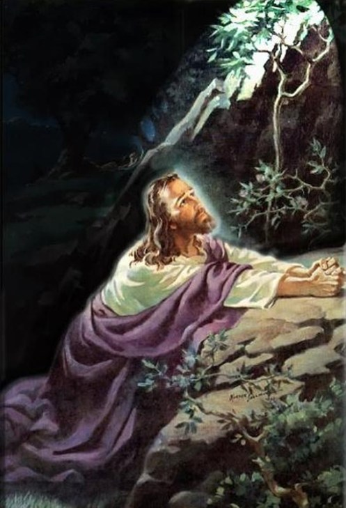 Jesus no Horto