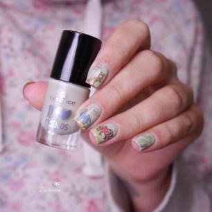 essence meet me at the chimney + moyou origami nails (6)