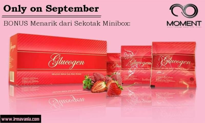 Promo Minibox Glucogen Irma Vania Moment