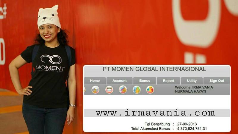 Moment Success Seminar Bali Irma Vania