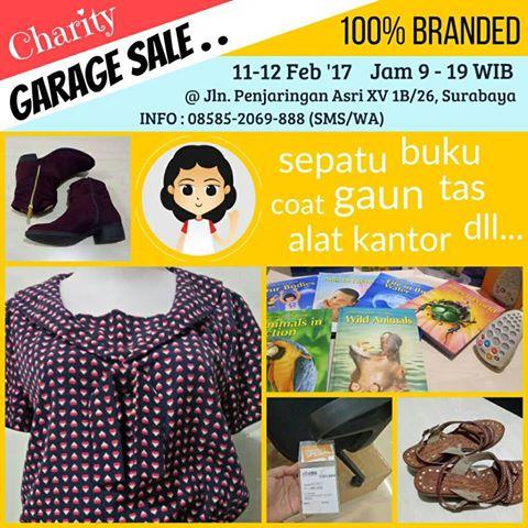 Garage Sale Surabaya dan Cuci Gudang Barang Branded Irma Vania Oesmani