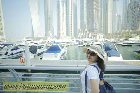irma vania nurmala hayati kerja sambil traveling ke luar negeri