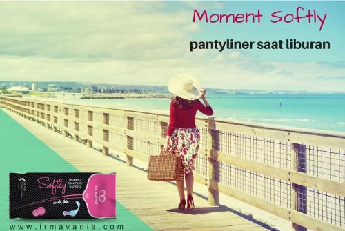 Pantyliner Herbal Moment Softly untuk Traveling