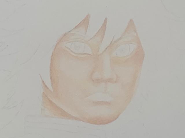 色鉛筆 クレヨン 富岡義勇 鬼滅の刃