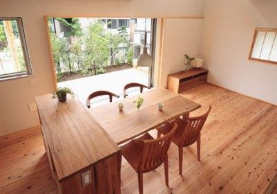 自然素材の家づくり立川の家-19