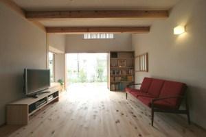 自然素材の家づくり流山の家-10