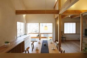 自然素材の家づくり浦安-12