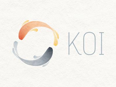 Finalised Koi logo