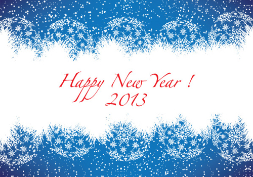Happy-New-Year-2013-Blue-Greeting-Card-Free-Vector