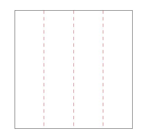 図1:60度定規のつくり方