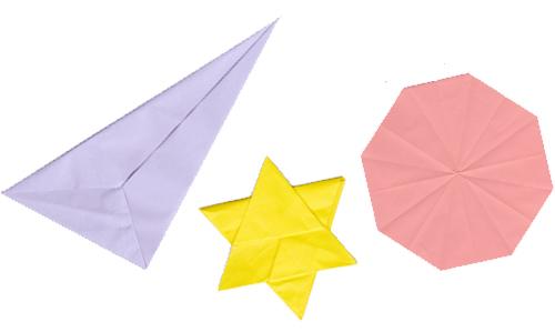 写真:折り紙サンプル