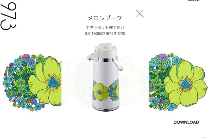 花柄ポットギャラリー:メロンブーケ