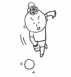 ドッジボール 投げ方