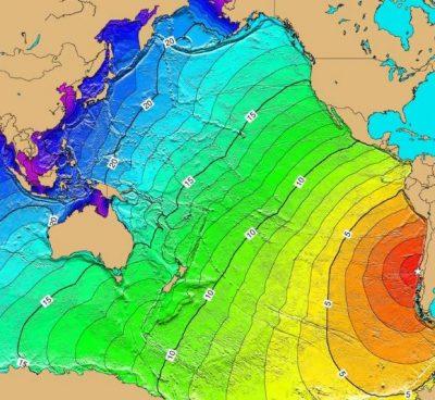 チリ地震津波速度