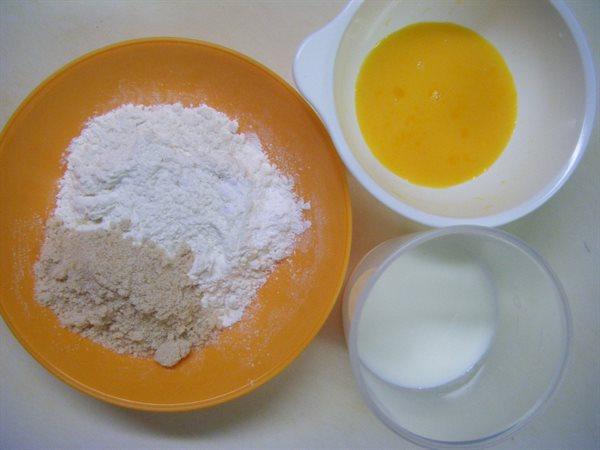蒸しパン 材料