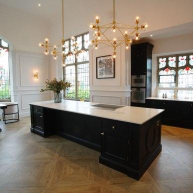 Kitchen Design - Church Conversion - Lytham St Annes - by Iroko Designs - 7