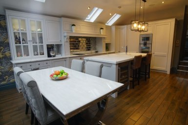 Kitchen Design - Lytham House - Lytham St Annes - by Iroko Designs - 11