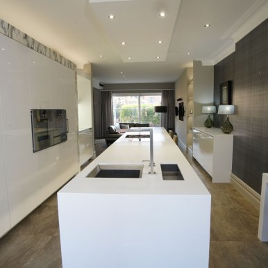 Kitchen Design - St Pauls Road - Lytham St Annes - by Iroko Designs - 20