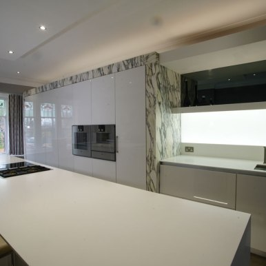 Kitchen Design - St Pauls Road - Lytham St Annes - by Iroko Designs - 25