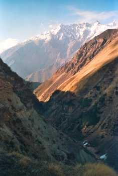 The majestic Garhwal Mountains