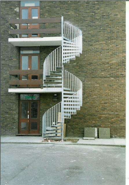 How Much Would Metal Architectural External Staircase Cost Page   Exterior Spiral Staircase Cost   Spiral Stair Case   Deck   Handrail   Iron   Metal