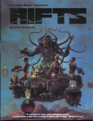 rifts book cover, 1990