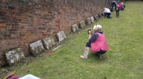 Recording the Quaker burial ground at Coalbrookdale