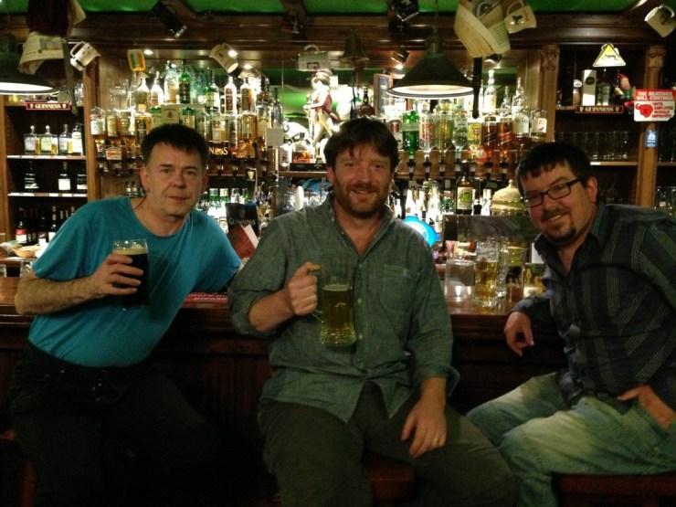 Iron Broo in an Irish Bar